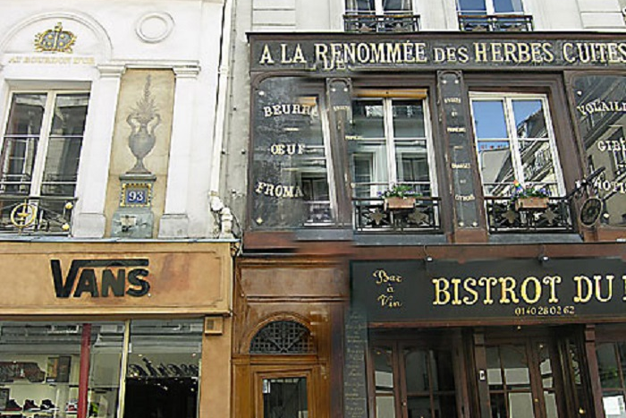 Entrance of In Lourve and Les Halles
