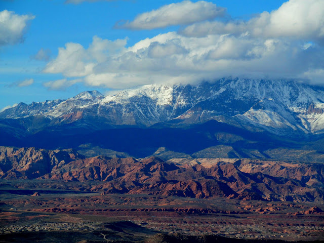 Red Reef and Pine Valley Mountains