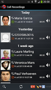 Galaxy Call Recorder Screenshot