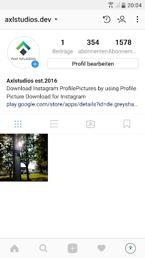 Profile Picture Download for Instagram 3.4 screenshots 1
