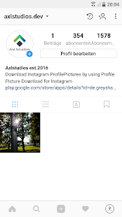 Profile Picture Download for Instagram - náhled