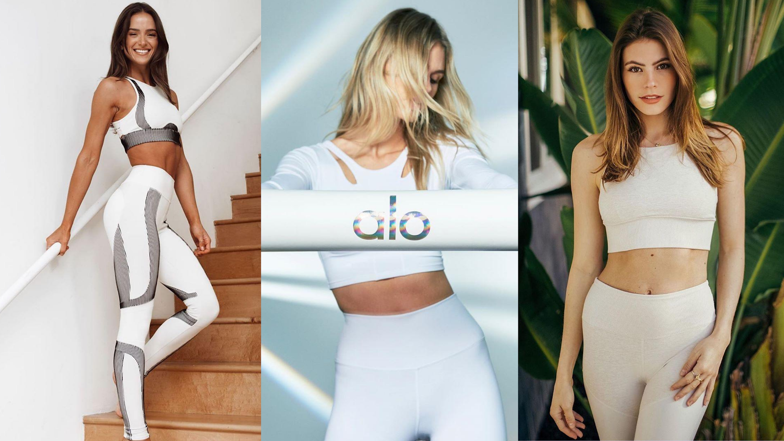 Hot weather fashion from Alo Yoga