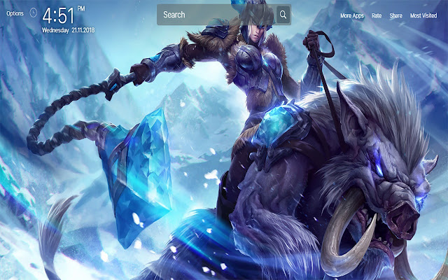 League Of Legends Wallpapers New Tab