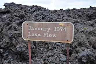 Photo: A birthday lava flow.