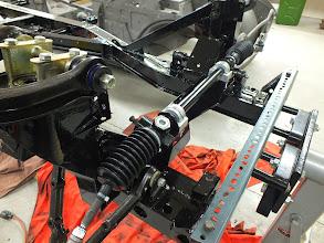 Photo: New quick rack steering