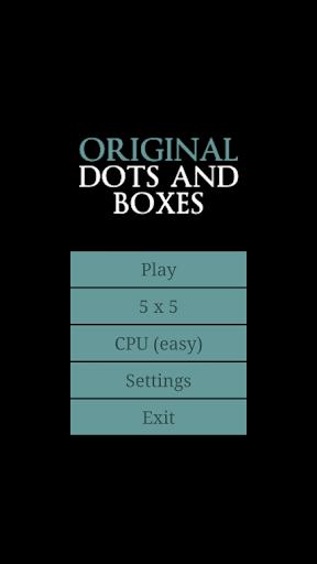 Original Dots and Boxes