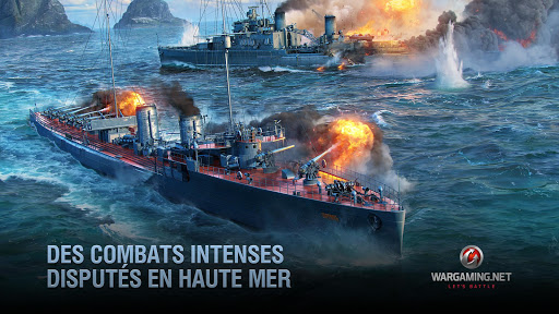 World Of Warship Blitz: Jeu de Bataille Navale  astuce 1