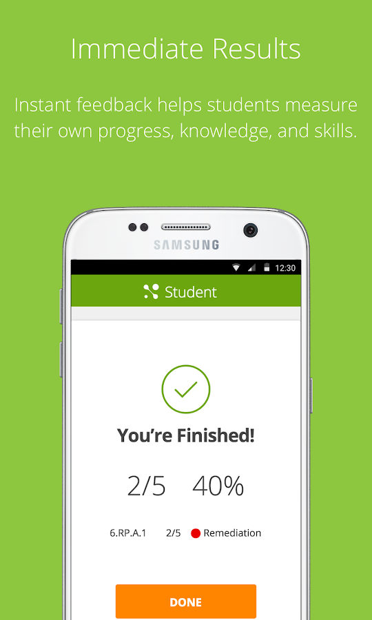 MasteryConnect Student- screenshot