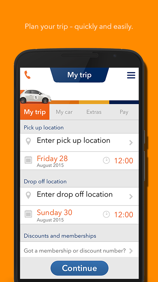 Budget Car Hire- screenshot