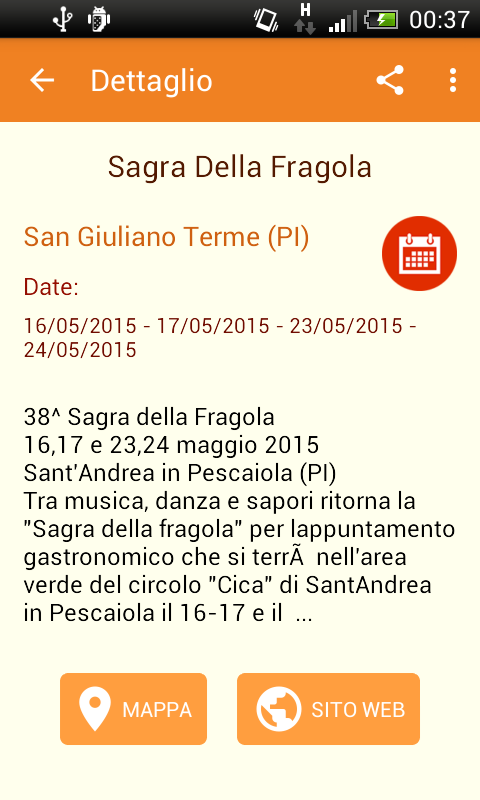 Sagre d'Italia- screenshot