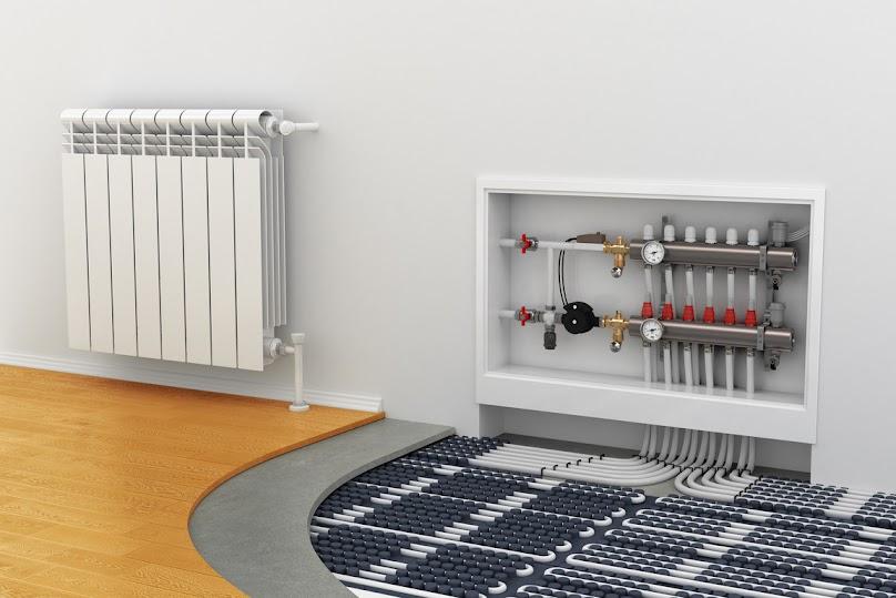 Pompy ciepła najlepiej pracują z niskotemperaturowym ogrzewaniem podłogowym.