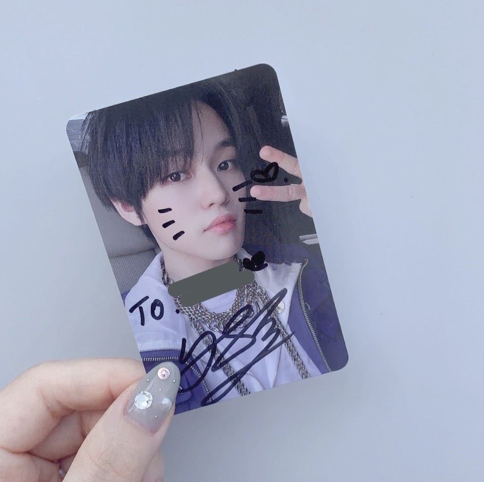 nct dream chenle stray kids felix photocard @my_neo_doy
