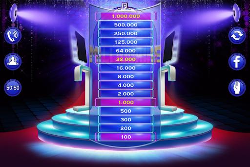 Millionaire Quiz 2018 - Trivia Game Free 2.3 screenshots 3