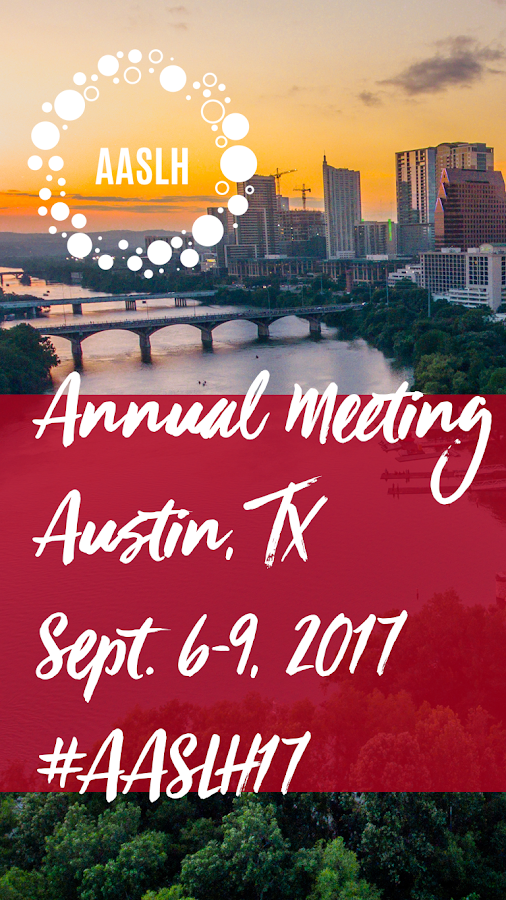2017 AASLH Annual Meeting- screenshot