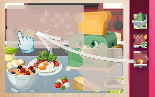 Puzzle for Kids – Home Kitchen - náhled