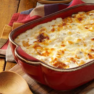 Comforting Potato Casserole.
