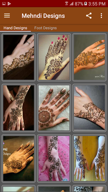 Mehndi Designs (offline) screenshot 3