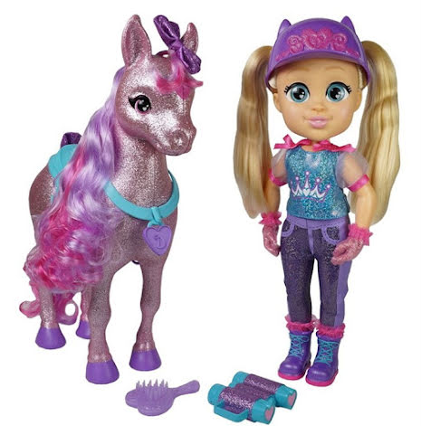 Love Diana Horse Set Feature Doll Pack