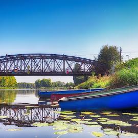 by Michal Fokt - Transportation Boats ( bridge, railway, boat )