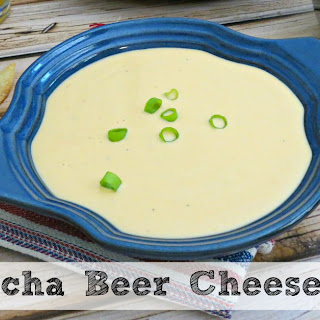 Sriacha Beer Cheese Dip | Game Day Recipe!