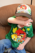 """Photo: """"No more pictures, Mommy!"""" Ok, I can respect that. But it means I get the cool hat."""