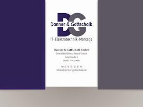 Photo: Referenz Webdesign: Danner & Gottschalk (HTML5/CSS3, One-Page)