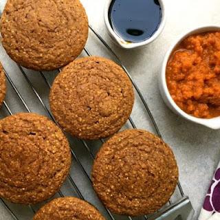 Pumpkin Spice Cornmeal Muffins