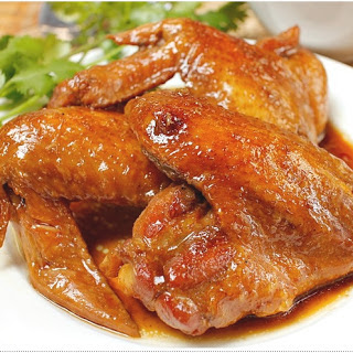 STEWED CHICKEN WITH GINGER SAUCE