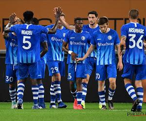 """Bij KAA Gent zijn ze zeer gelukkig met de overwinning: """"Eerste stap in de goede richting"""""""