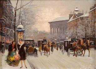 """Photo: Fausto Giusto, """"Parigi in inverno"""" (1941)"""