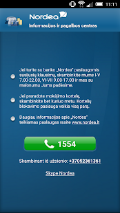 Nordea Lietuva- screenshot thumbnail
