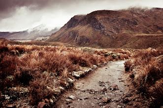 Photo: Road to Ngauruhoe