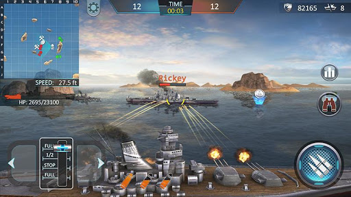 Warship Attack 3D 1.0.4 screenshots 1