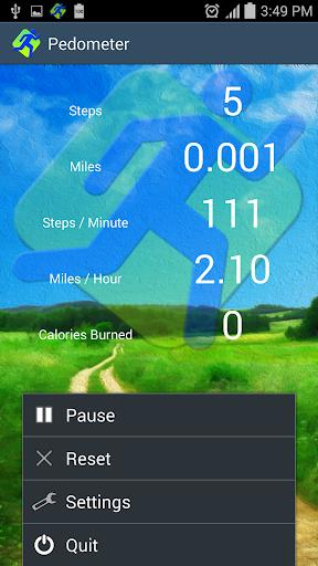 Pedometer screenshot 8