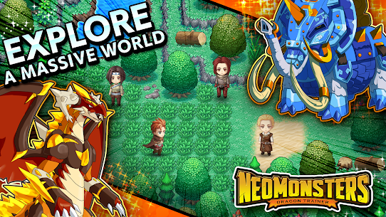 Neo Monsters Mod Apk 2.12 (Unlimited Cost + No Ads) 1