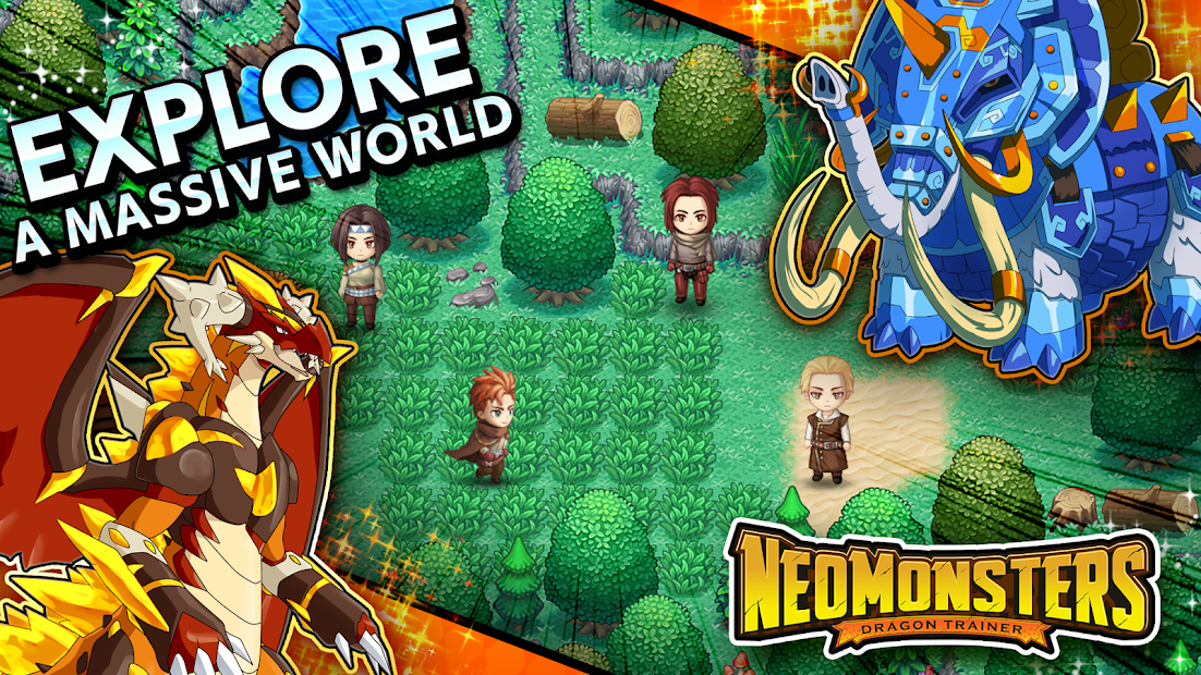 Neo Monsters Android App Screenshot