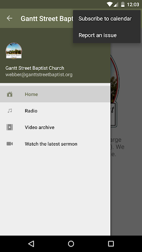 Gantt Street Baptist Church