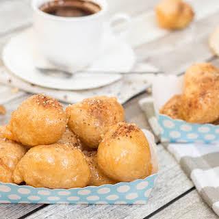 Loukoumades - Greek Honey and Walnut Balls.