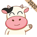 Cow Stickers WAStickerApps icon