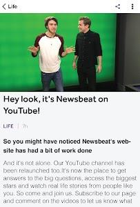 BBC Newsbeat screenshot 2
