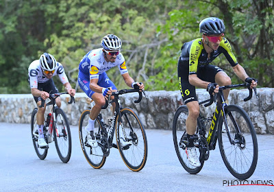 """Adam Yates laat in de Tour zien wat hij kan betekenen voor Ineos: """"Die sprint ging ik nooit kunnen winnen, hé"""""""