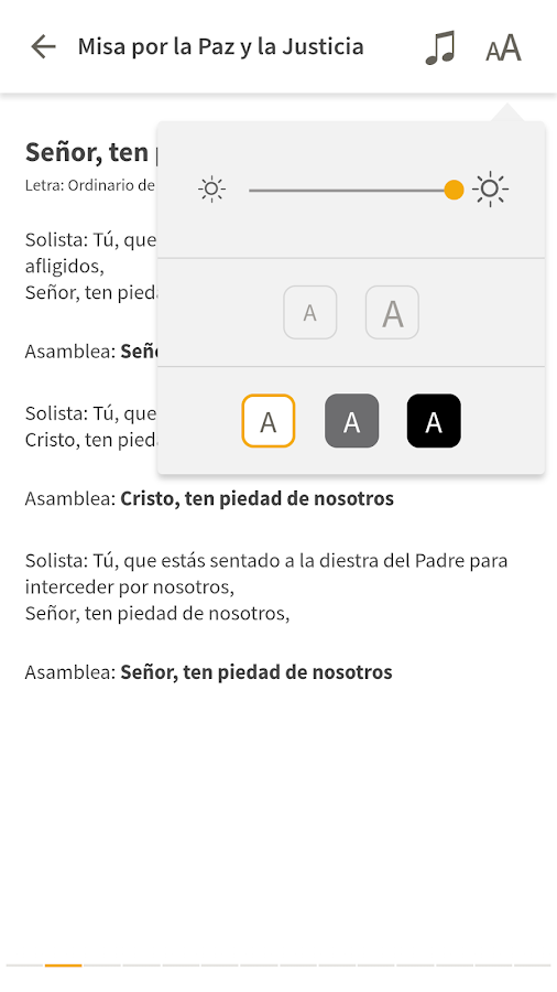 Canto Católico- screenshot