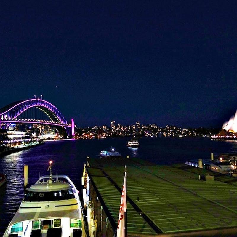 【世界の絶景】オーストラリアの歴史がはじまった街シドニーの夜景