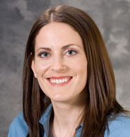 """Photo: Lindsey Geier, MD West Clinic  """"I enjoy getting to know my patients and their families. Following them through important milestones, celebrating during the ups and providing support during the downs makes my profession incredibly rewarding.""""  To schedule an appointment with Dr. Geier call (608) 265-7740. http://www.uwhealth.org/findadoctor/profile.jsp?provider=8713"""