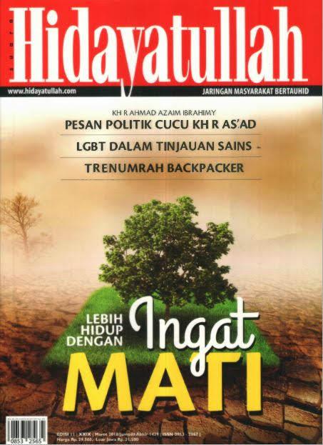Hidayatullah Edisi Maret 2018