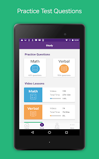 GRE Prep & Practice by Magoosh- screenshot thumbnail