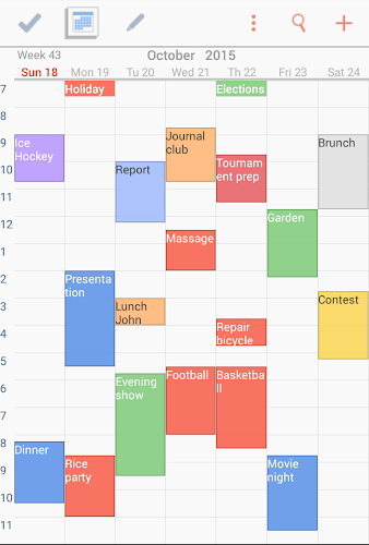 To-Do Calendar Planner Android App Screenshot