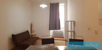 Studio meublé 20,37 m2