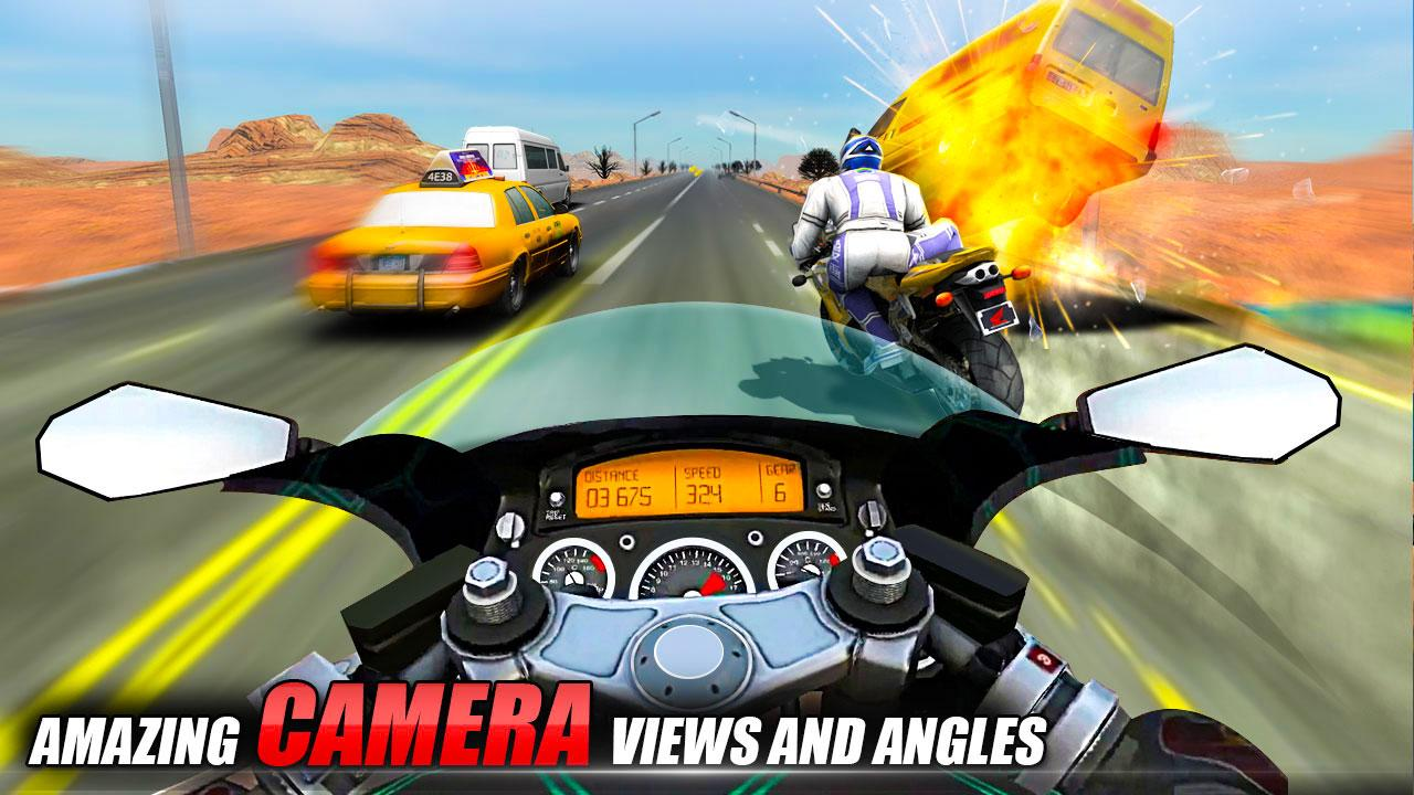 Bike Attack Race : Stunt Rider- screenshot
