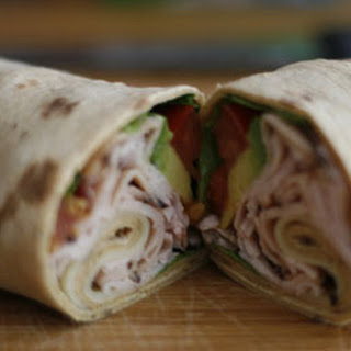California Turkey Club Wraps